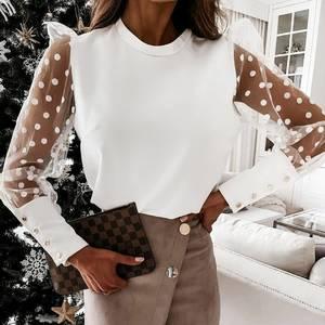 Блуза с длинным рукавом А59628