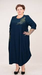 Платье длинное нарядное А04018