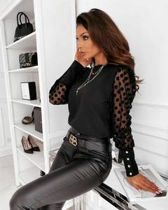 Блуза с длинным рукавом А59629