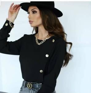 Блуза с длинным рукавом А29060