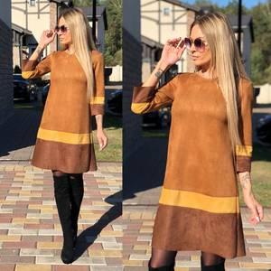 Платье короткое с рукавом 3/4 современное Ф0951