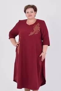 Платье длинное нарядное А04016