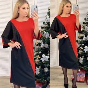 Платье короткое нарядное с коротким рукавом Ф7399