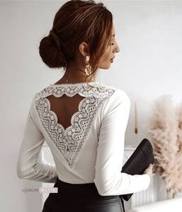 Блуза с длинным рукавом А34856