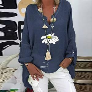 Блуза с длинным рукавом А41484