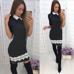 Платье короткое облегающее современное Ф0516