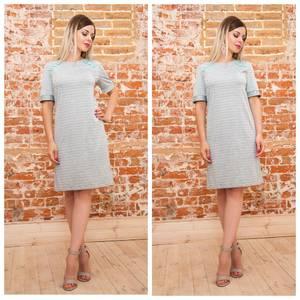 Платье короткое трикотажное летнее Ф0917