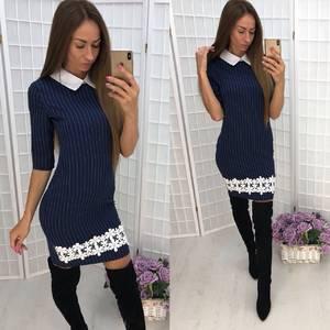 Платье короткое облегающее современное Ф0517
