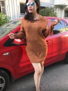 Платье короткое однотонное теплое Т9780