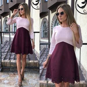 Платье короткое коктейльное современное У0323