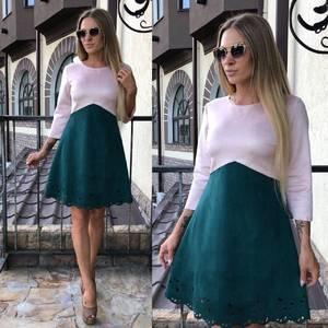 Платье короткое коктейльное современное У0324