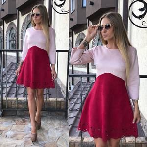 Платье короткое коктейльное современное У0325