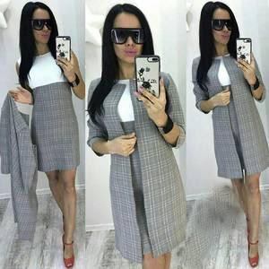 Платье короткое классическое современное У9018