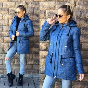 Джинсовая куртка Ф1076