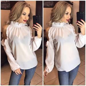 Блуза с длинным рукавом Ф9786