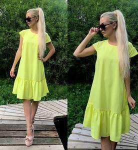 Платье короткое повседневное летнее Т9886