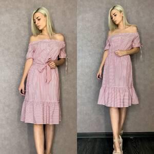 Платье короткое повседневное летнее Т9518
