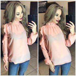 Блуза с длинным рукавом Ф9787