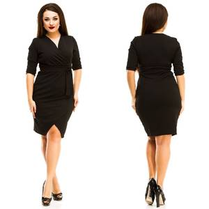Платье короткое нарядное однотонное Ф7148