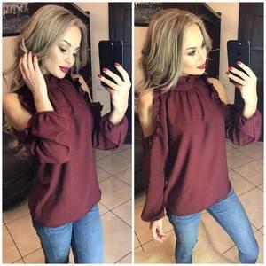 Блуза с длинным рукавом Ф9788
