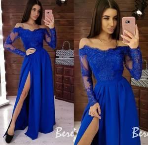 Платье длинное нарядное А49502