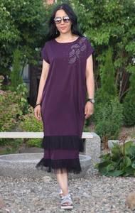 Платье длинное летнее повседневное Т9552