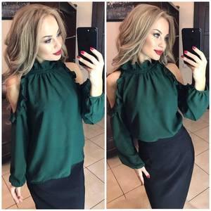 Блуза с длинным рукавом Ф9789