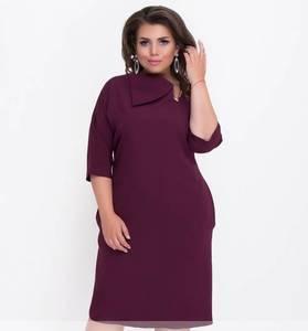 Платье короткое нарядное деловое Ф1486