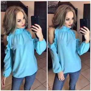 Блуза с длинным рукавом Ф9790