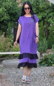 Платье длинное летнее повседневное Т9555