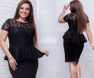 Платье короткое нарядное черное Х1333