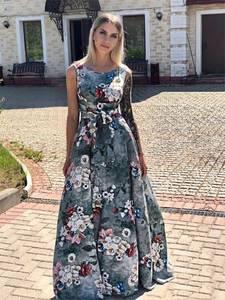 Платье длинное летнее Ч2508