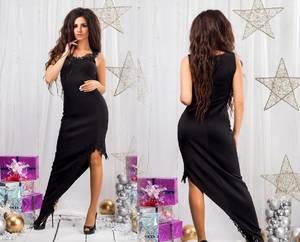 Платье короткое вечернее элегантное С8818