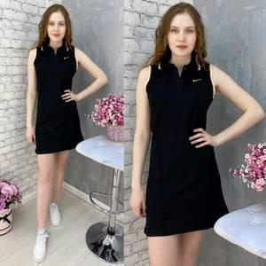 Платье короткое без рукавов А37588