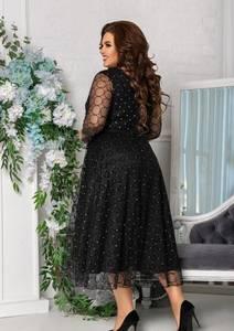 Платье длинное нарядное А17890