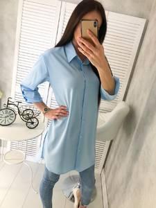 Рубашка однотонная Ц4640
