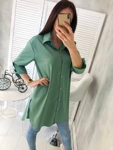 Рубашка однотонная Ц4641