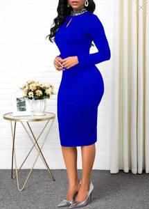 Платье короткое облегающее А15869