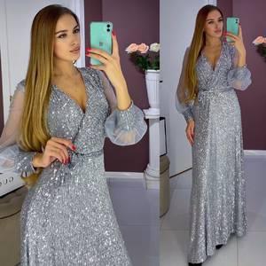 Платье длинное нарядное А17720