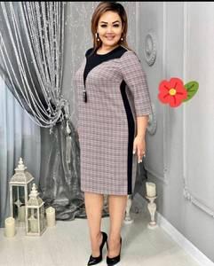Платье короткое деловое А17945