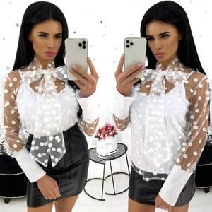 Блуза для офиса А18430