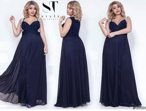 Платье длинное нарядное А02649