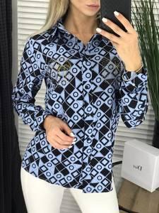 Блуза с длинным рукавом А03786