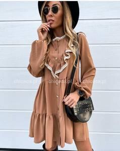 Платье короткое с длинным рукавом А11544
