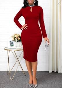 Платье короткое облегающее А15870