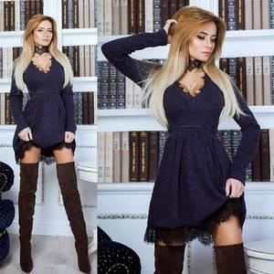 Платье короткое современное А19710