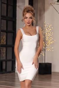Платье короткое облегающее А20061