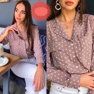 Блузка с длинным рукавом А32599