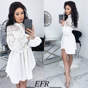 Платье короткое нарядное А11530