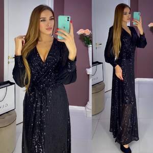 Платье длинное нарядное А17722